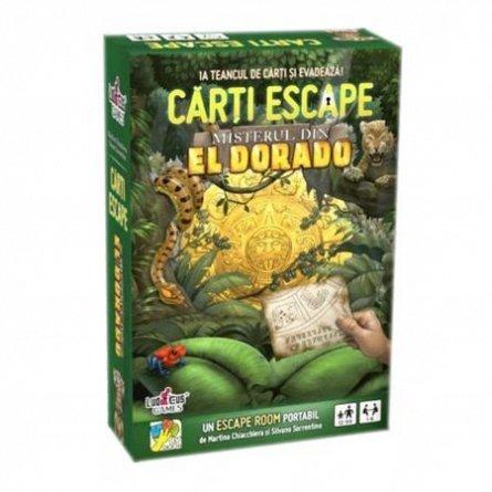 Joc carti Escape,Misterul din Eldorado,+12Y