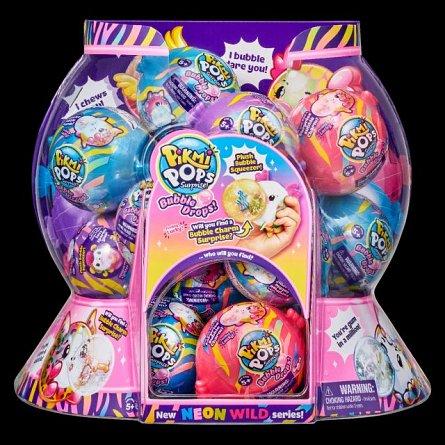 Pikmi Pops,plus parfumat,S5,Bubble drops,Neon wild