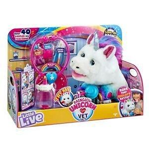 Unicorn curcubeu,set de joaca veterinar,interactiv