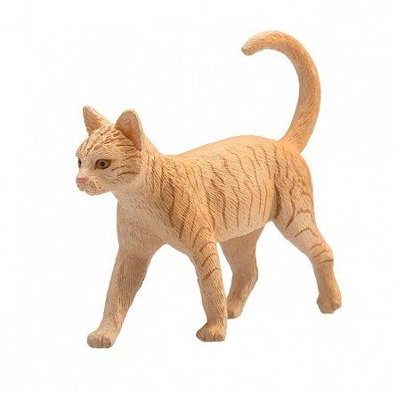 Figurina Pisica tarcata aurie, Mojo
