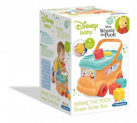Autobuz de sortat forme Winnie the Pooh,+10M