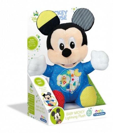 Plus Mickey Mouse,cu lumini si sunete,+6M