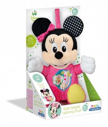 Plus Minnie Mouse,cu lumini si sunete,+6M