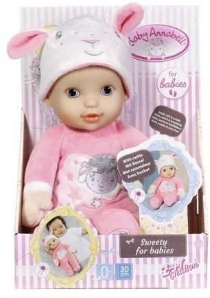 Baby Annabell-Bebelus cu zornaitoare,30cm