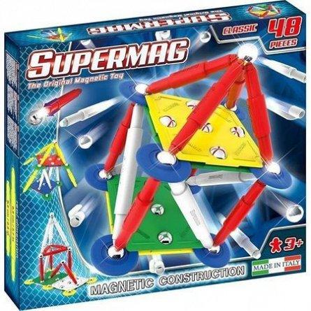 Supermag,Classic,Primay-Set constructie,magnetic,48pcs,+3Y