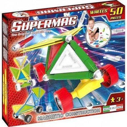 Supermag,Tags,Wheels-Set constructie,magnetic,50pcs,+3Y