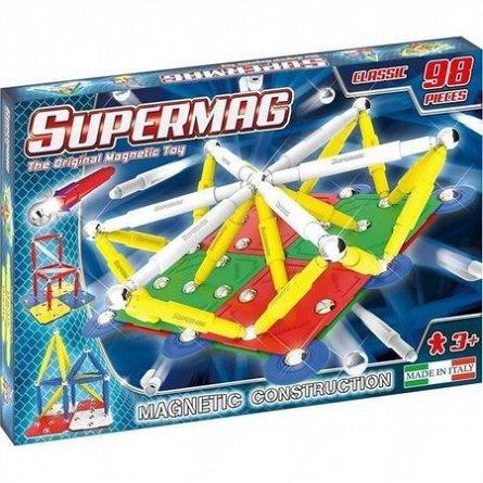 Supermag,Classic,Primay-Set constructie,magnetic,98pcs,+3Y