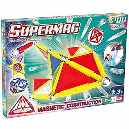 Supermag,Tags,Primary-Set constructie,magnetic,200pcs,+3Y
