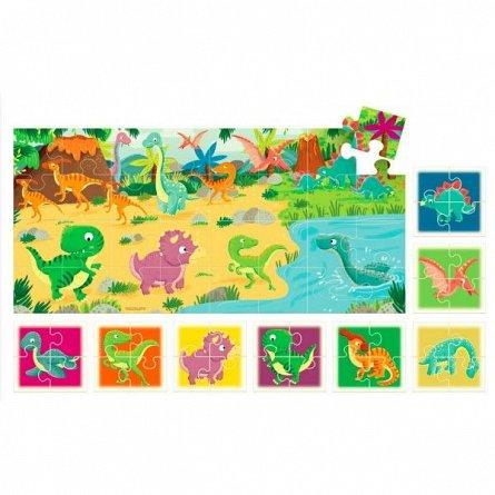 Puzzle Headu - 8+1 Puzzle dinozauri