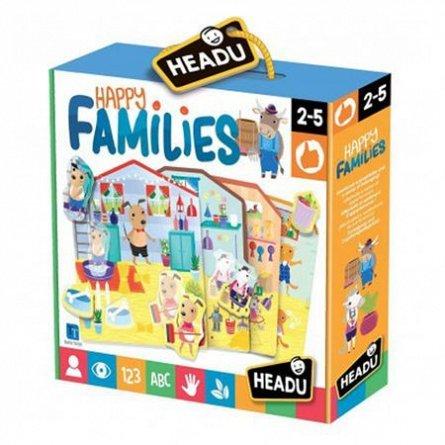 Joc Familiile fericite,Headu,2-5ani