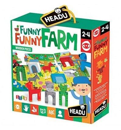 Puzzle Headu - Stem, Puzzle ferma fericita