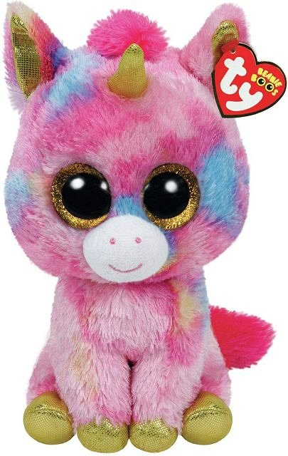 Plus TY Beanie Boos,Fantasia,Unicorn multicolor,15cm