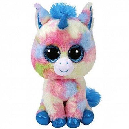 Plus TY Beanie Boos Blitz,Unicorn albastru,24cm