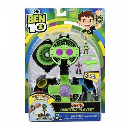 Ceas Omnitrix Micro world Ben 10,set joaca