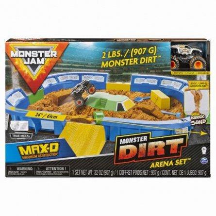 Arena Monster Jam,cu masina,1:64,kinetic sand,cu acc/set