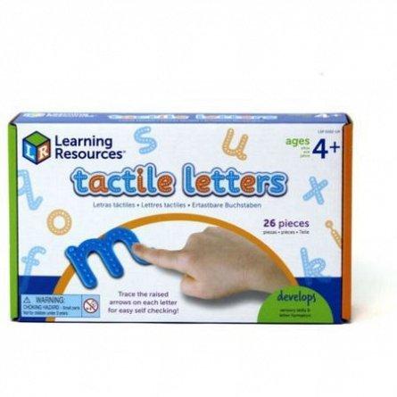 Set tactil,Litere,Learning Resources,+4Y