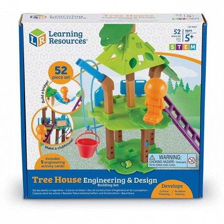 Set Casuta din copac,STEM,Learning Resources,+5Y