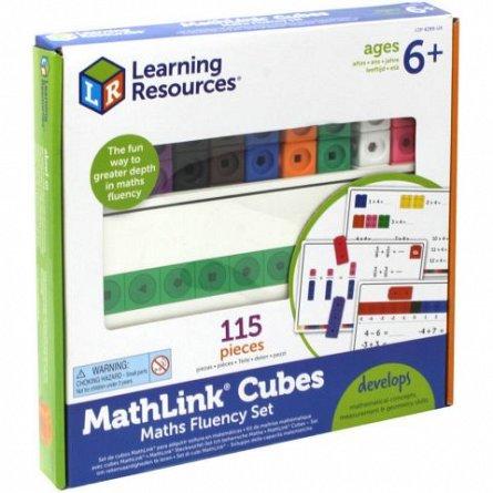 Joc MathLink,Learning Resources,115pcs,+6Y