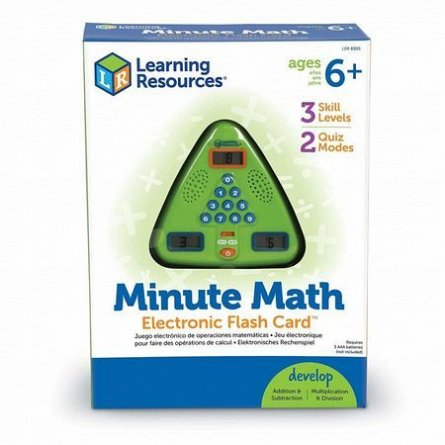 Joc electronic Minute Math,Learning Resources,+6Y
