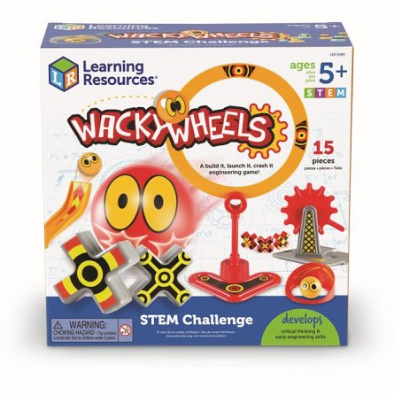 Set Wacky Wheels,STEM,Learning Resources,+5y