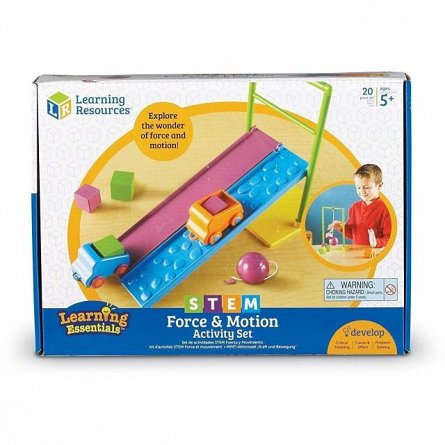 Set Forta si miscare,STEM,Learning Resources,+5Y