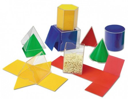 Forme geometrice pliante,Learning Resources,16pcs,+7Y