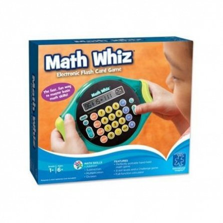 Joc Math Whiz,matematica rapida,Educational Insights,+6Y