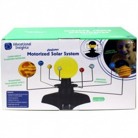 Sistem solar motorizat,Educational Insights,+8Y