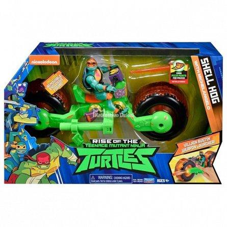 Vehicul cu figurina TMNT,Testoase Ninja