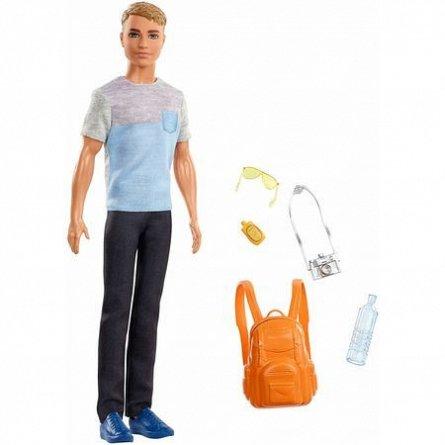 Papusa Barbie,Travel,Ken,cu accesorii