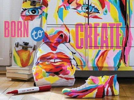 Marker cu vopsea Pintor,F,galben pastel