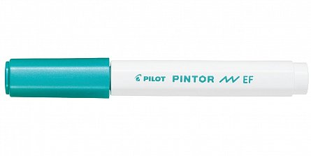 Marker cu vopsea Pintor,EF,verde metalic
