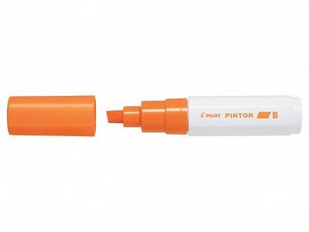 Marker cu vopsea Pintor,B,portocaliu