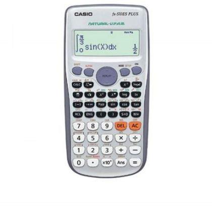 Calculator birou Casio, stiintific, FX-570ES PLUS, 417 functii, argintiu