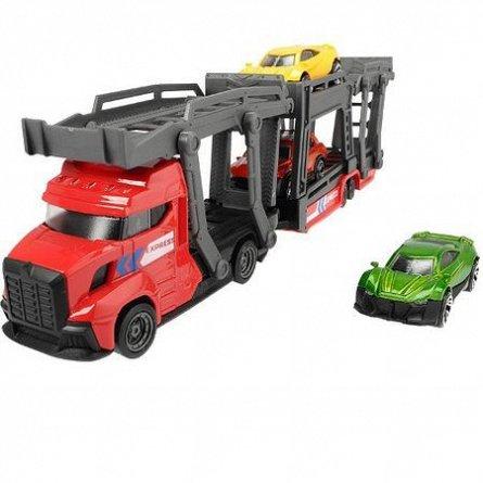 Transportator auto Dickie,cu 3 masini/set,metal