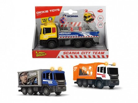 Masina Dickie,Scania City Team,div.modele