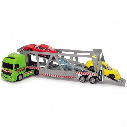 Transportator auto Dickie,cu 2 masini/set,metal