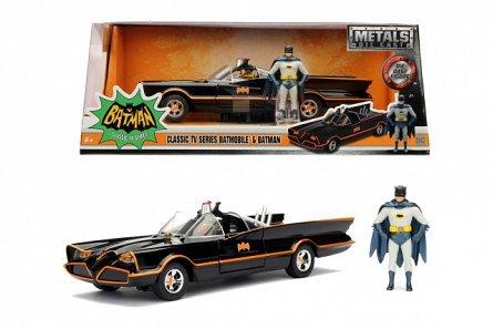Masina Batman,1966 Classic Batmobile 1:24