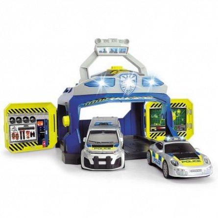 Sediul central Dickie,Politie,cu masina,set de joaca
