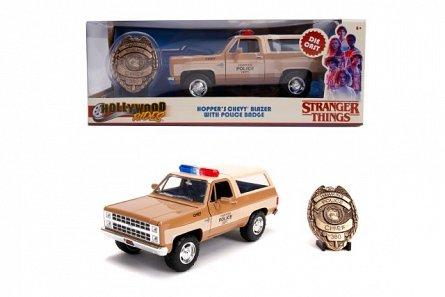 Masina Stranger Things,Hopper's,1980 Chevy K5 Blaze