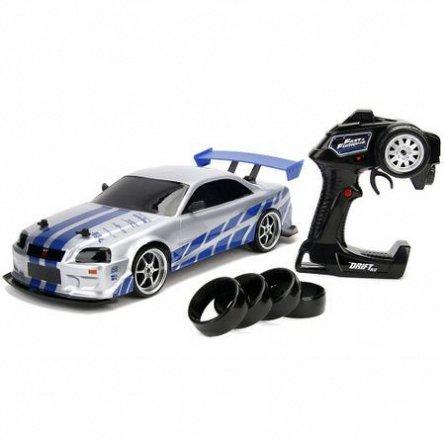 Masina Fast and Furious RC,Nissan Skyline GTR