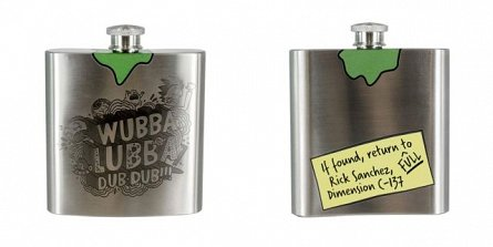 Sticla Hip Flask a lui Rick - Rick and Morty