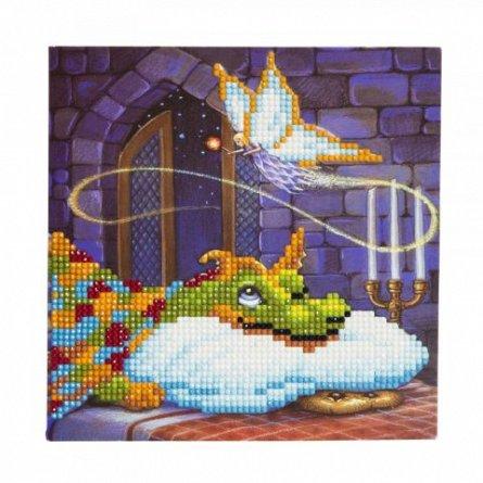 Set creativ cu cristale,Dragon