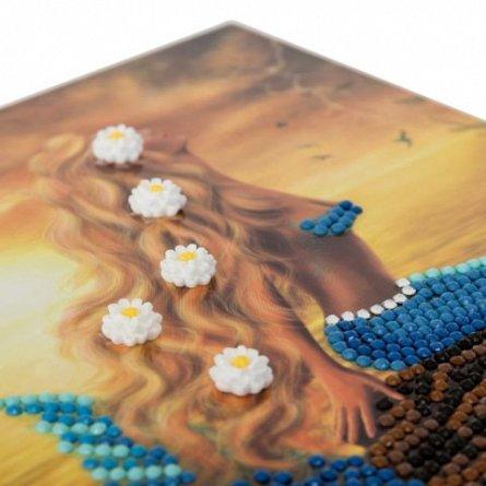 Set creativ cu cristale,Mermaid vis