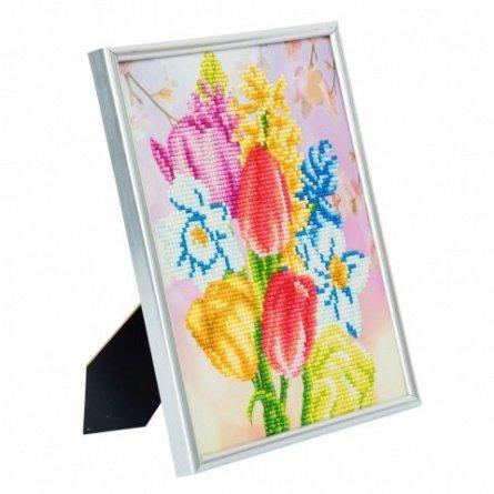 Set creativ cu cristale,in rama foto,Buchetul minunat