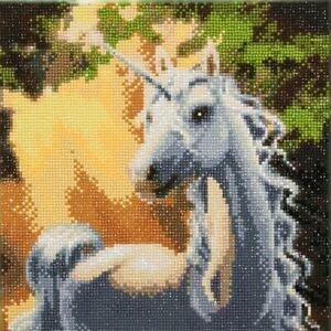 Kit arta cu cristale,Unicornul raza soarelui