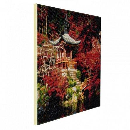 Tablou creativ cu cristale,Arta chinezeasca pt casa