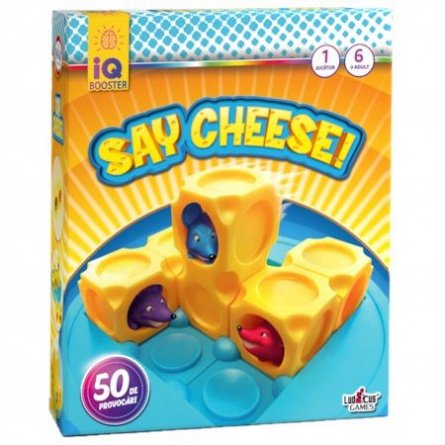 IQ Booster-Say Cheese!,+6Y