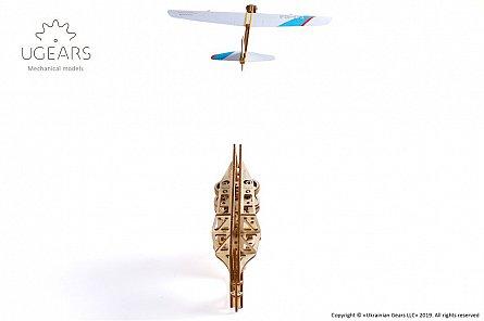 Puzzle mecanic,Flight Starter,lemn