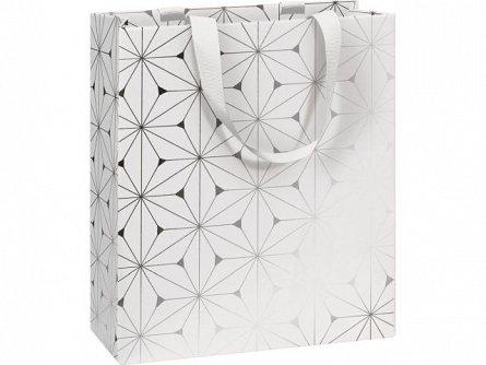 Punga cadou 18x8x21 cm, Dioro, alb